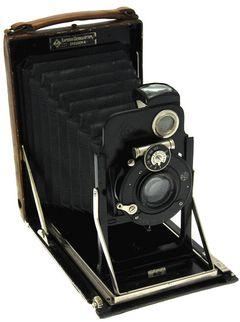 Kamera Werkstätten - Patent Etui de luxe 9 x 12 miniature