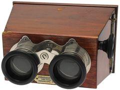 Richard Jules - Stéréoscope 7 x 13 à mise au point et à écartement des oculaires miniature