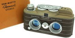 Sawyer's Inc. - View Master Personnal Stereo Camera marron miniature