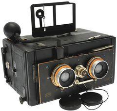 Bellieni Henry - Jumelle stéréoscopique et panoramique 9 x 18 miniature