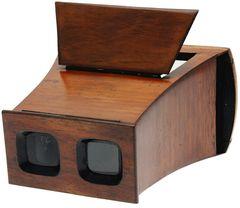 Inconnue - Stéréoscope pour vues en carton miniature