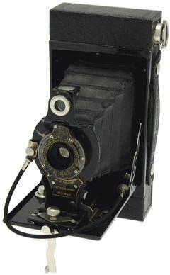 Kodak - N° 2 Autographic Brownie ''boîtier rectangulaire'' miniature