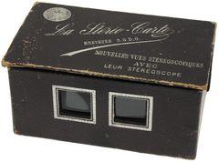 Léon & Lévy - La Stéréo-carte miniature